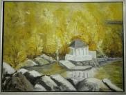 Troldhaugen Norway. Oil on canvas. 60x80. 2011